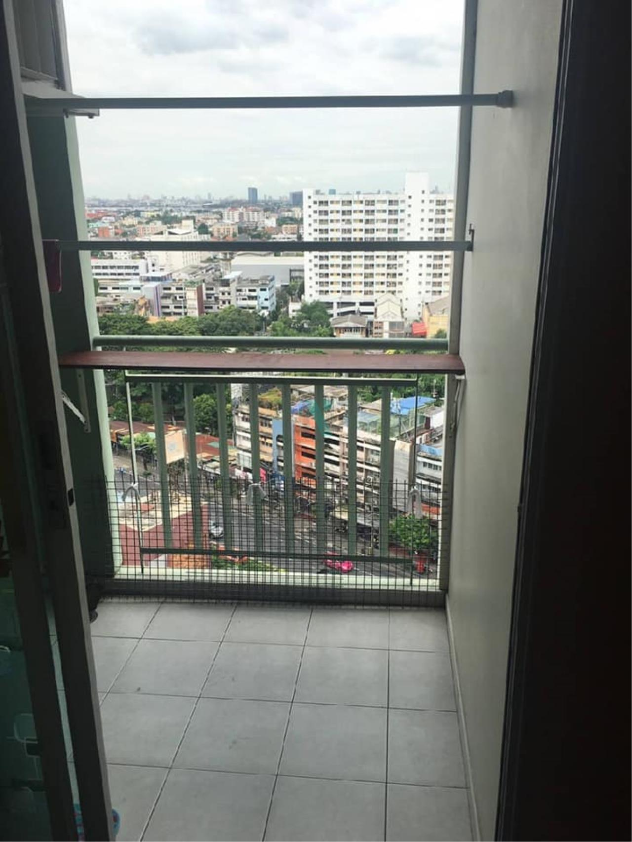 NOPPON REAL ESTATE CO.,LTD.  Agency's For rent Lumpini Ville Ladprao-Chokchai 4 1 bedroom 15th floor Building A 8
