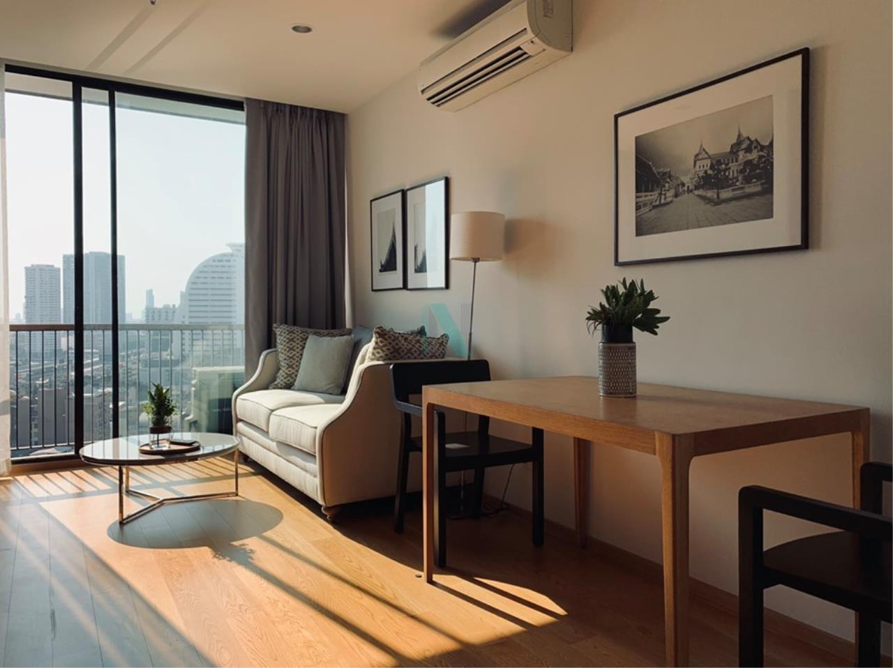 NOPPON REAL ESTATE CO.,LTD.  Agency's For rent Noble Revo Silom 2 bedrooms 17th floor near BTS Surasak 3