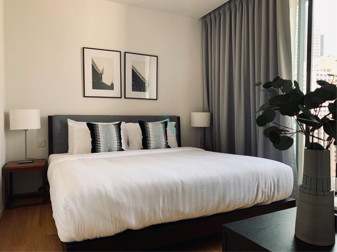 NOPPON REAL ESTATE CO.,LTD.  Agency's For rent Noble Revo Silom 2 bedrooms 17th floor near BTS Surasak 5