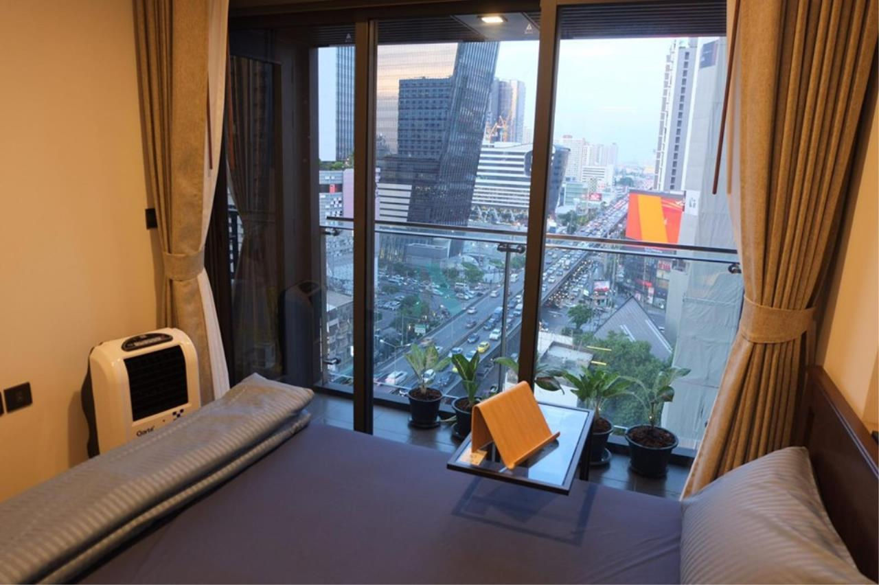 NOPPON REAL ESTATE CO.,LTD.  Agency's For rent The Line Asoke-Ratchada 1 bedroom 15th floor near MRT Phra Ram 9 3