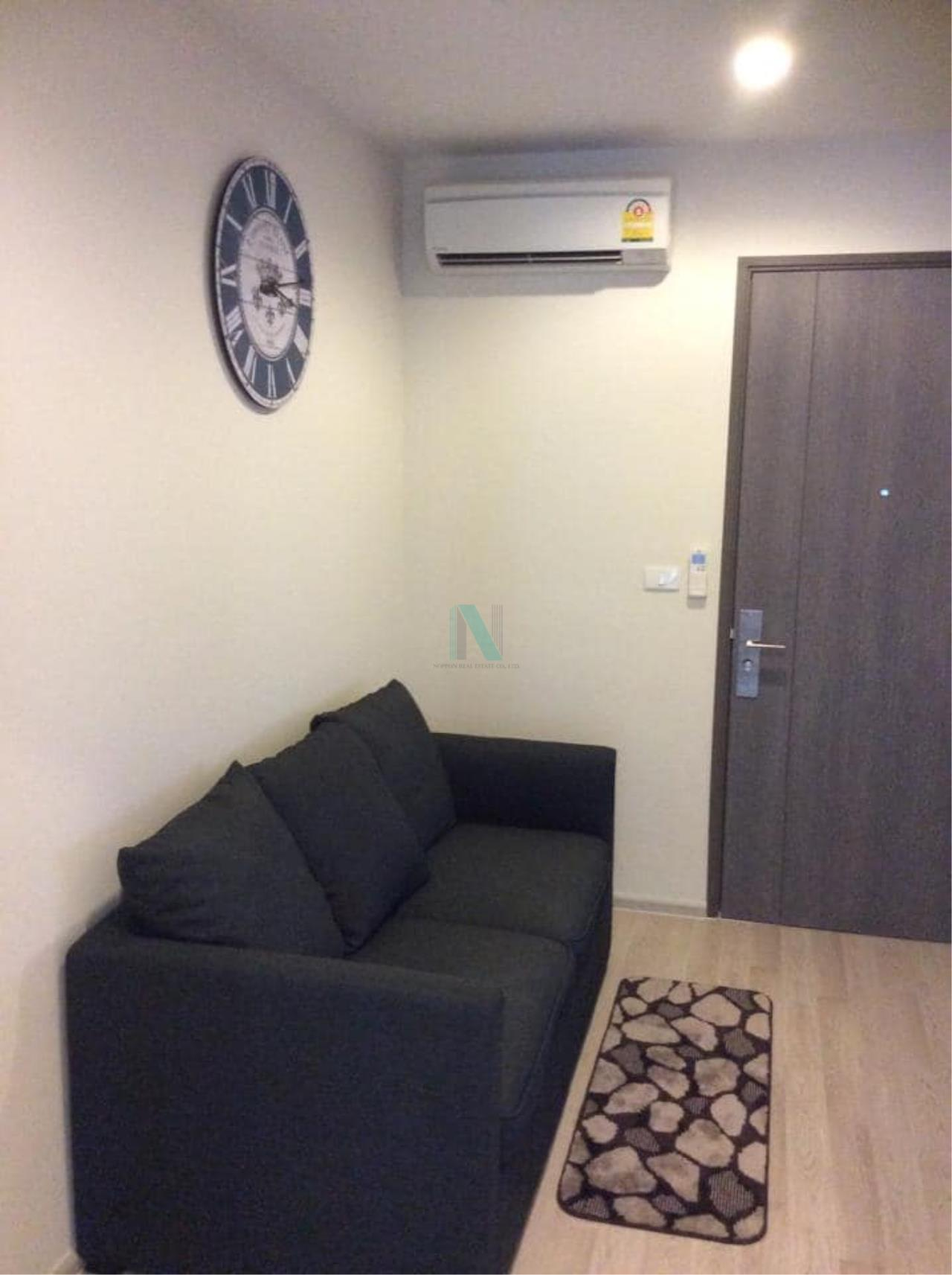NOPPON REAL ESTATE CO.,LTD.  Agency's For rent Centric Ratchada-Huay Kwang 1 bedroom 7th floor 6