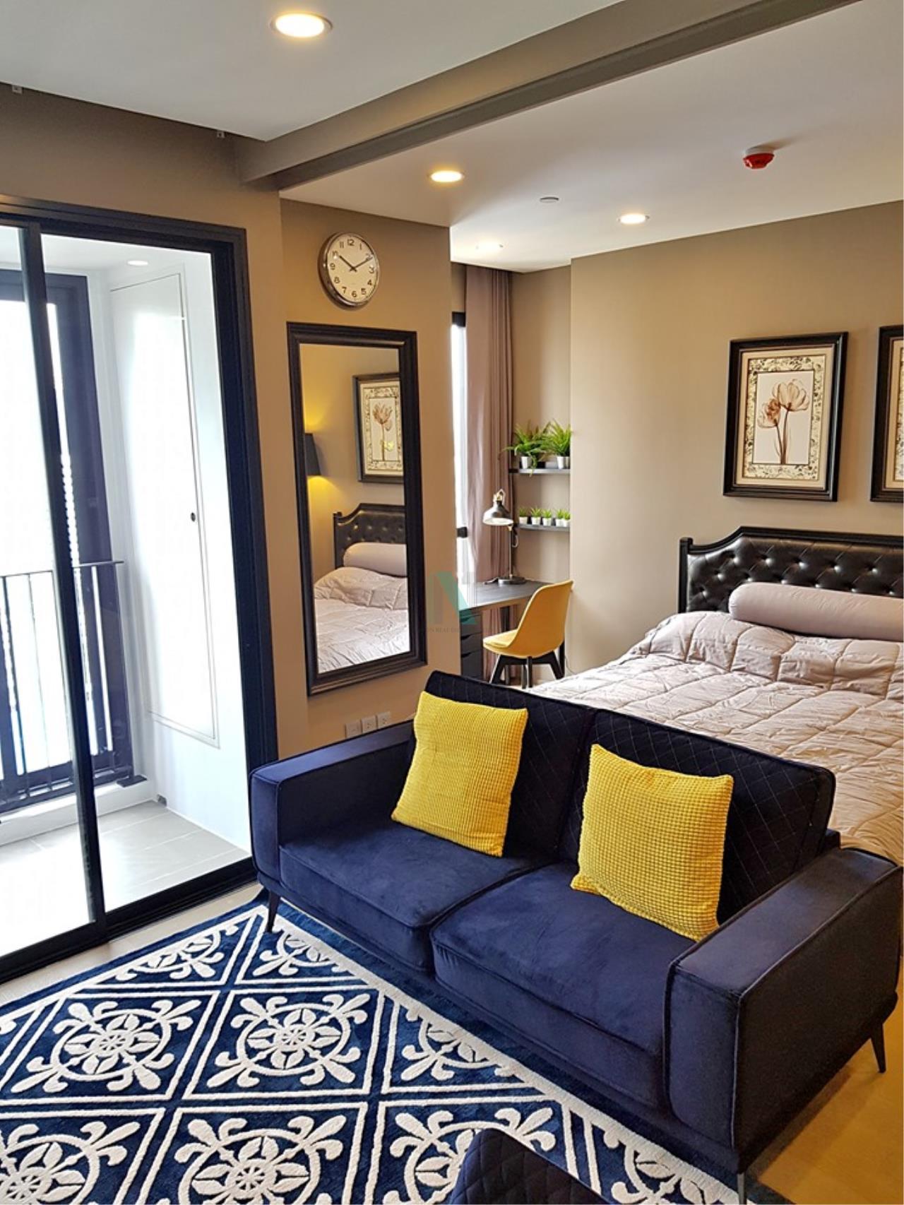 NOPPON REAL ESTATE CO.,LTD.  Agency's For Rent Ashton Chula-Silom, size 35 sqm, 1 bedroom, 1 bathroom, MRT Sam Yan 1