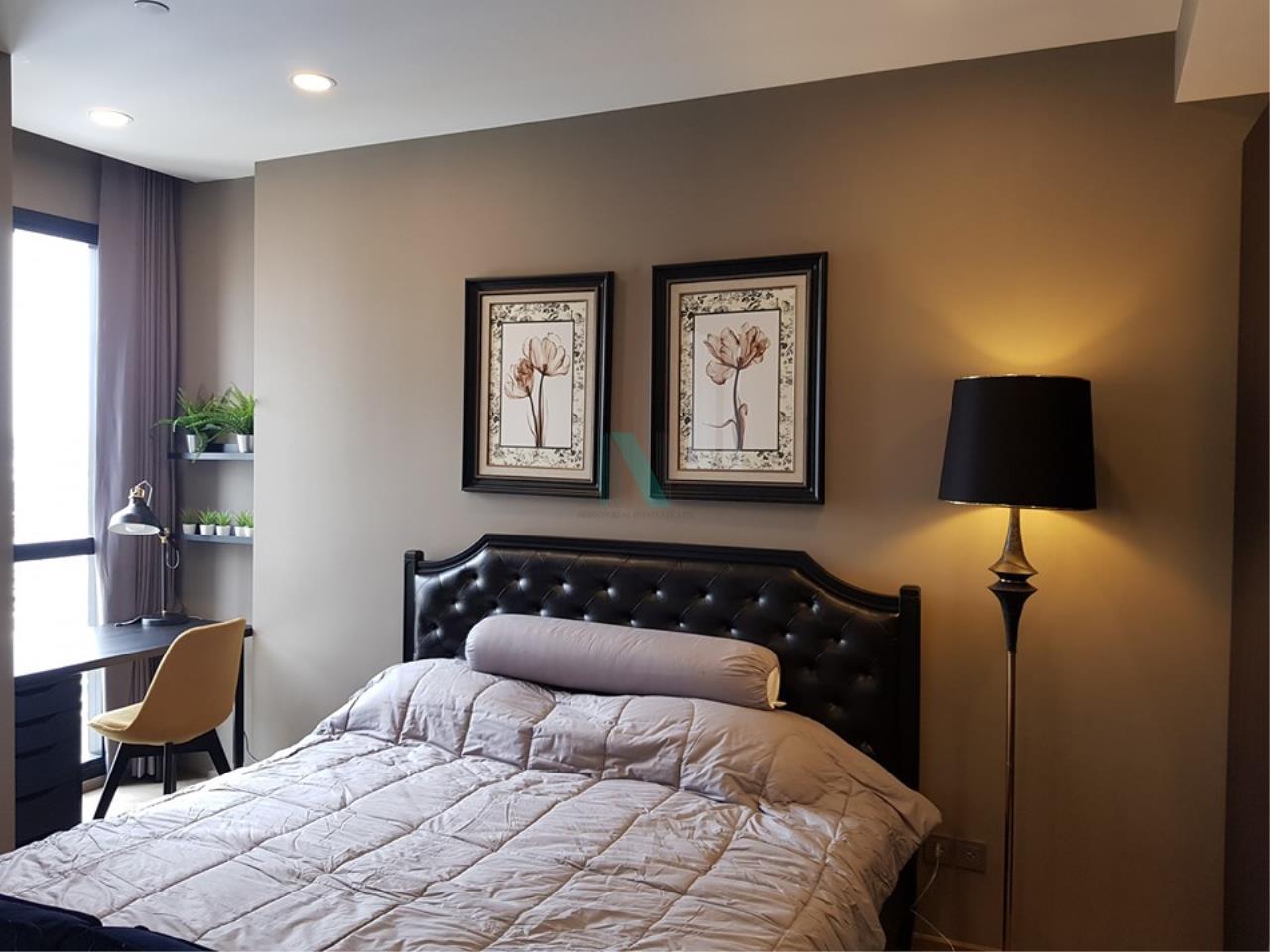 NOPPON REAL ESTATE CO.,LTD.  Agency's For Rent Ashton Chula-Silom, size 35 sqm, 1 bedroom, 1 bathroom, MRT Sam Yan 8