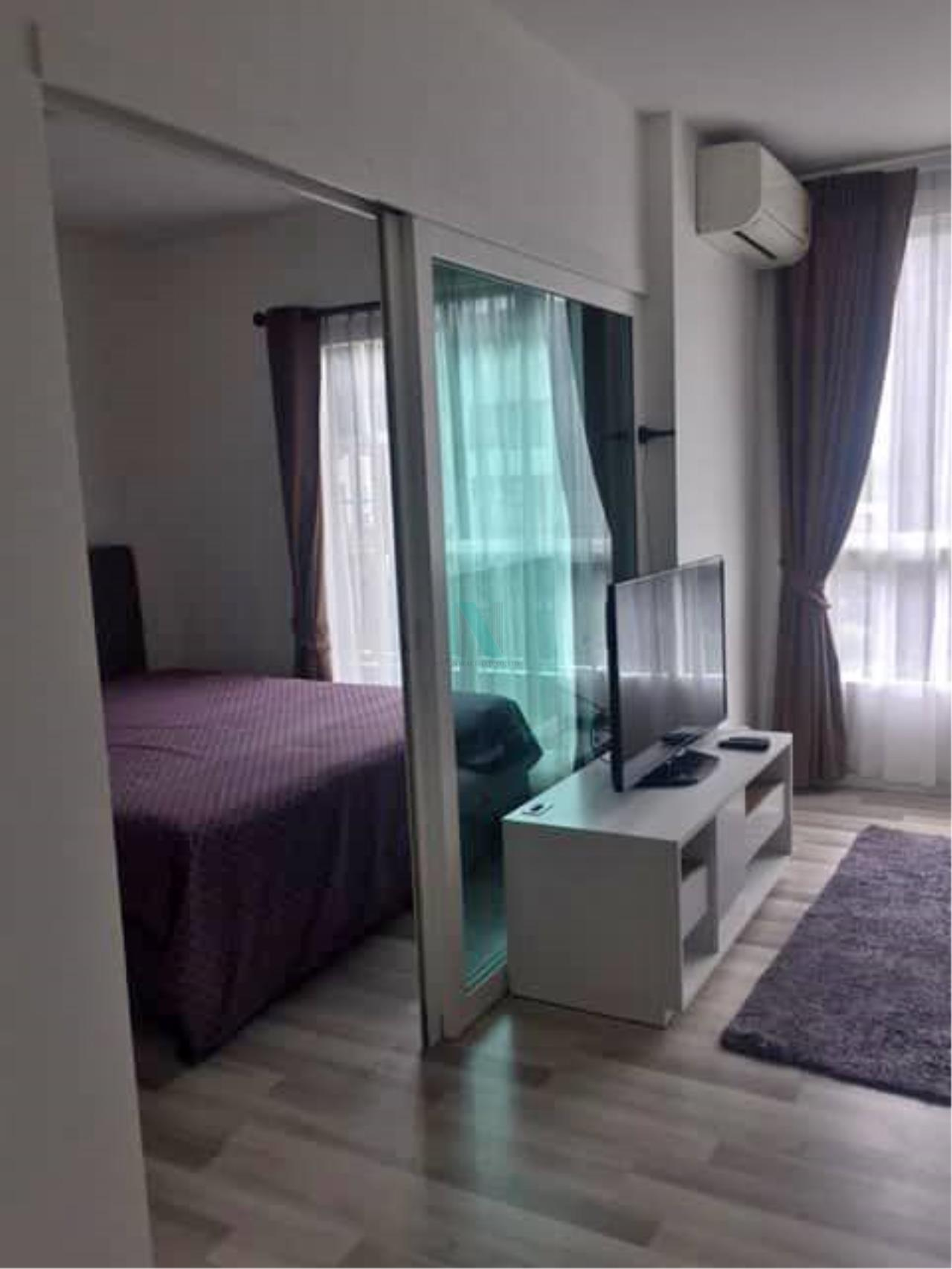 NOPPON REAL ESTATE CO.,LTD.  Agency's For Rent The Key Sathorn-Ratchaphruek 1 bed 1 bath 31 sqm BTS Wutthakat 2