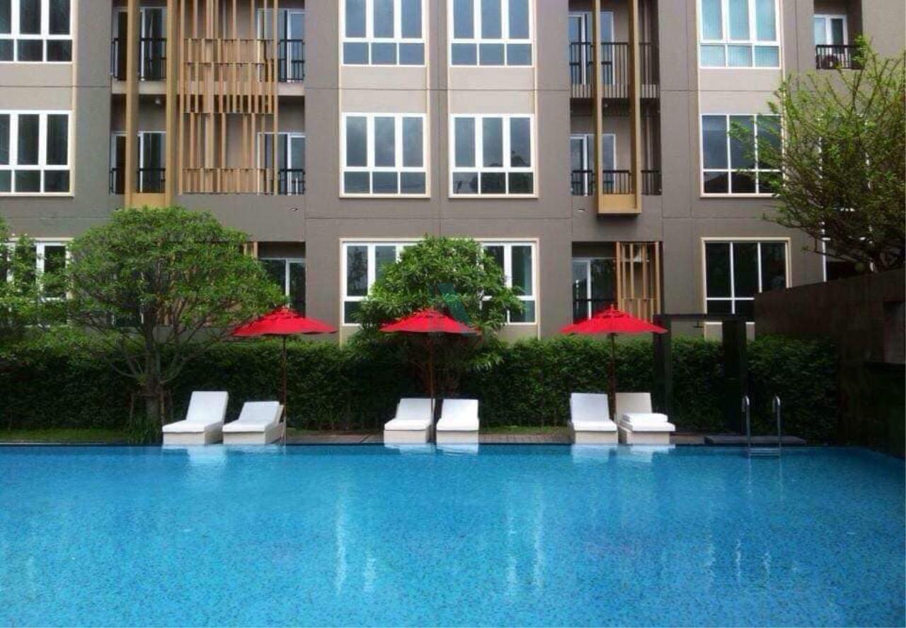 NOPPON REAL ESTATE CO.,LTD.  Agency's For Rent The Key Sathorn-Ratchaphruek 1 bed 1 bath 31 sqm BTS Wutthakat 7