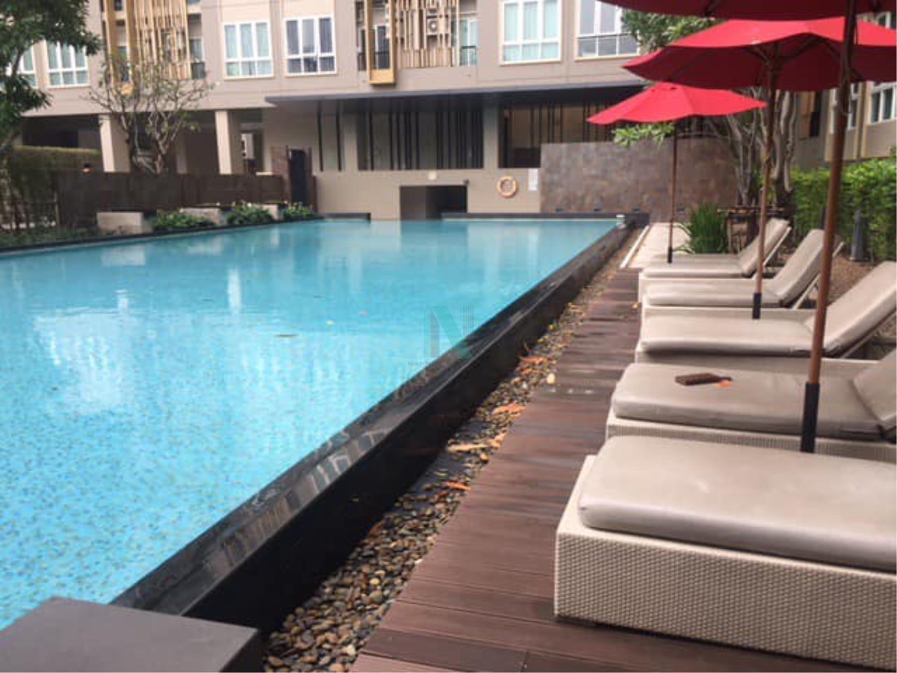 NOPPON REAL ESTATE CO.,LTD.  Agency's For Rent The Key Sathorn-Ratchaphruek 1 bed 1 bath 31 sqm BTS Wutthakat 8