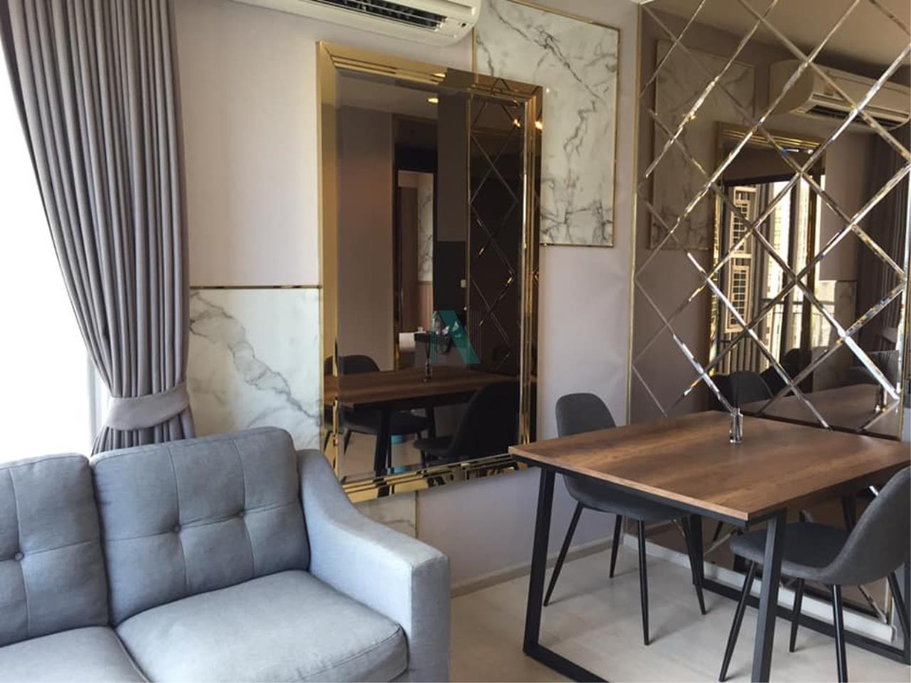 NOPPON REAL ESTATE CO.,LTD.  Agency's For Rent Rhythm Asoke 41.35 sqm 1 bed 1 bath MRT Rama 9 1