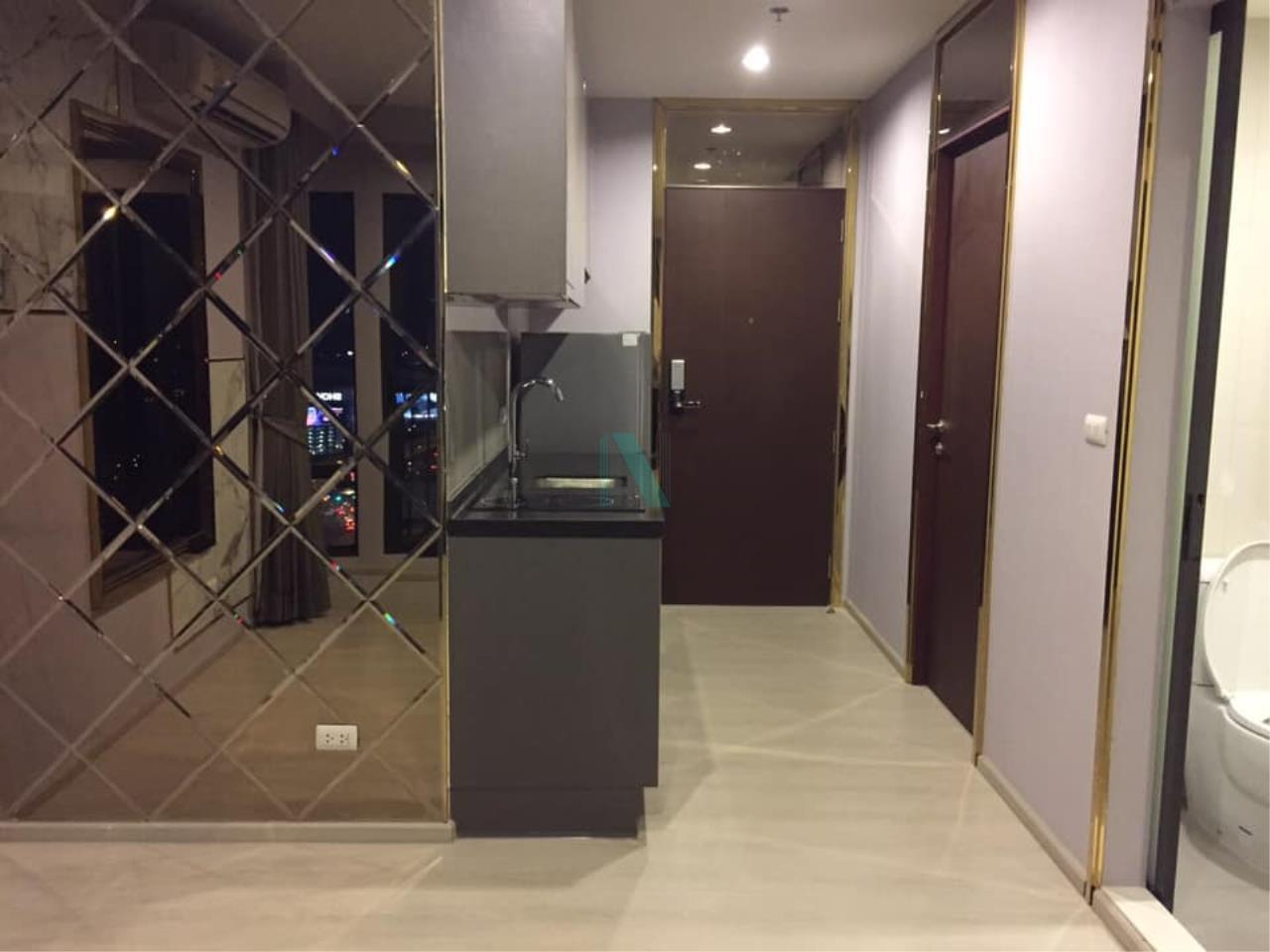 NOPPON REAL ESTATE CO.,LTD.  Agency's For Rent Rhythm Asoke 41.35 sqm 1 bed 1 bath MRT Rama 9 3