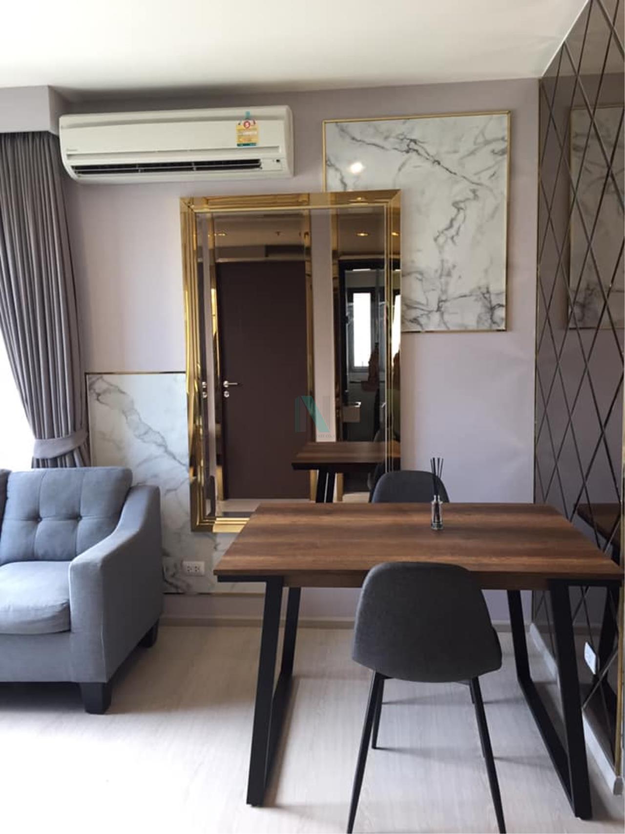 NOPPON REAL ESTATE CO.,LTD.  Agency's For Rent Rhythm Asoke 41.35 sqm 1 bed 1 bath MRT Rama 9 4
