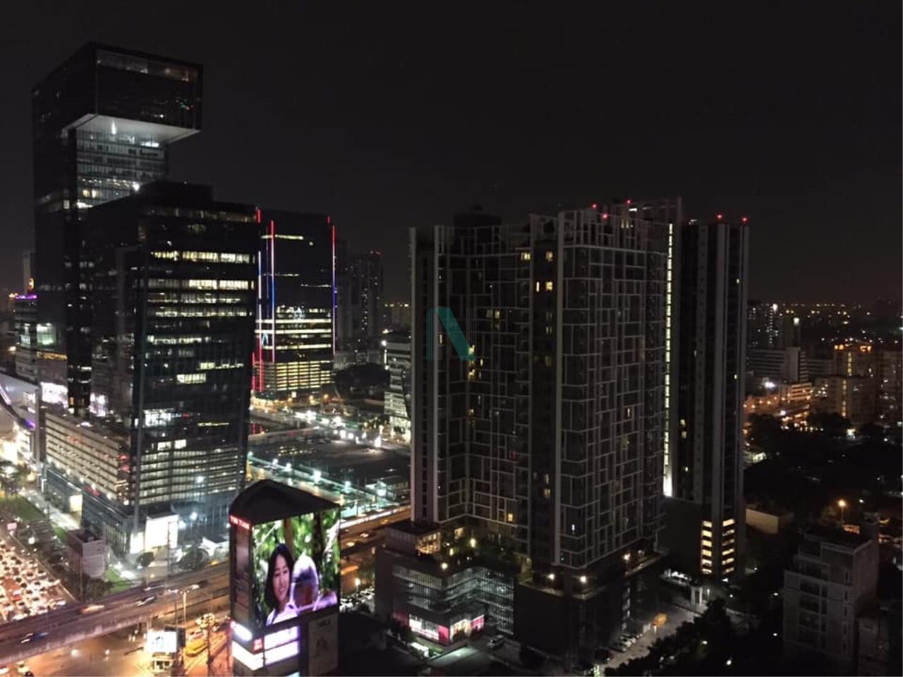 NOPPON REAL ESTATE CO.,LTD.  Agency's For Rent Rhythm Asoke 41.35 sqm 1 bed 1 bath MRT Rama 9 8