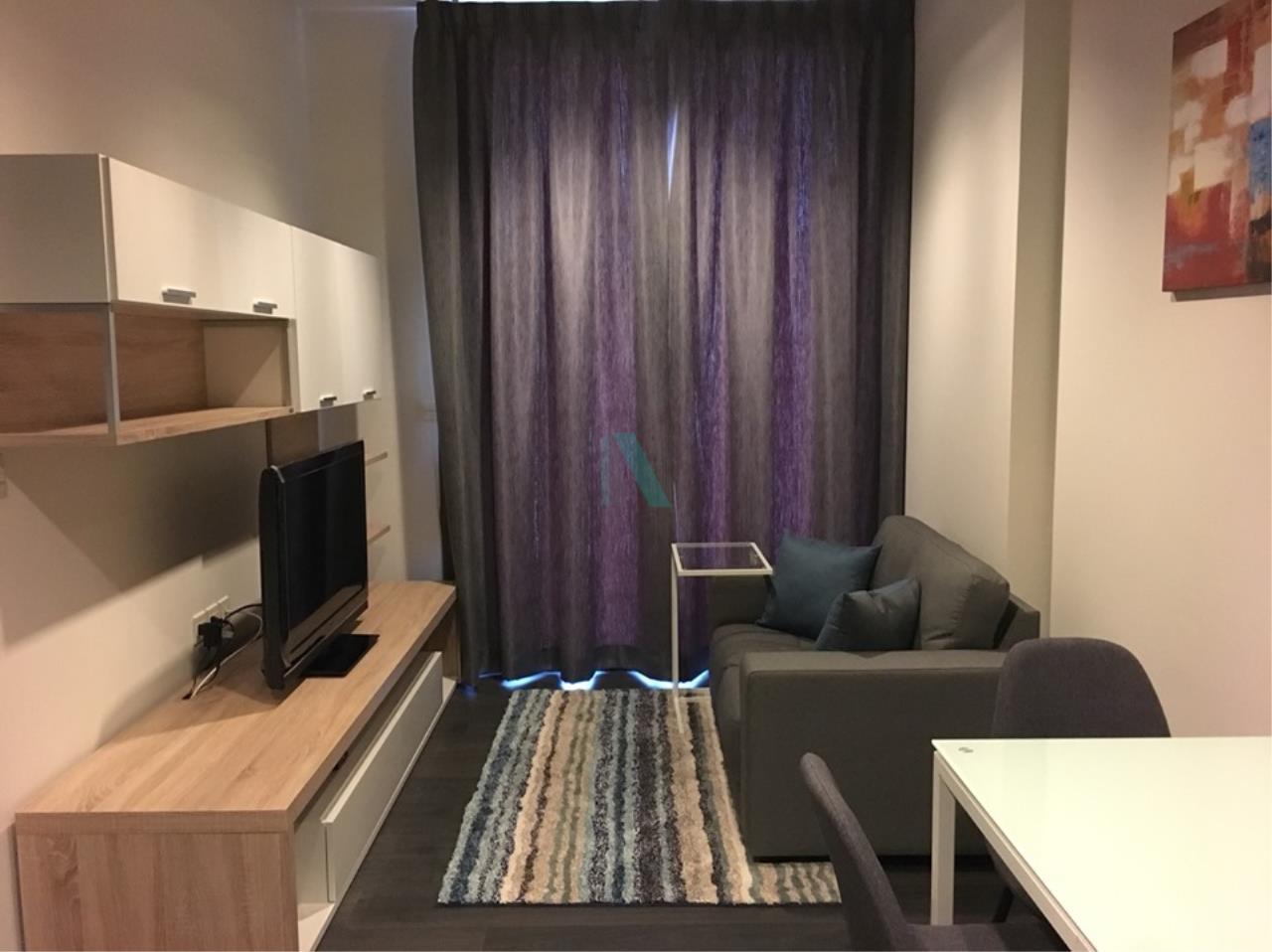 NOPPON REAL ESTATE CO.,LTD.  Agency's For Rent EDGE Sukhumvit 23 1 bed 1 bath 33.5 sqm MRT Sukhumvit 5