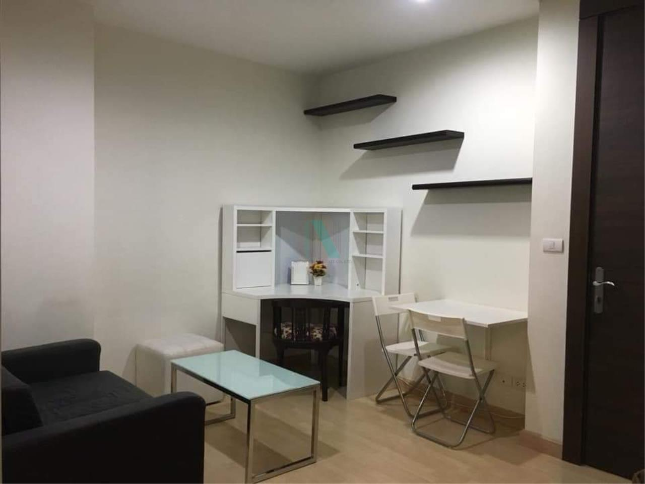NOPPON REAL ESTATE CO.,LTD.  Agency's For rent Rhythm Ratchada 1 bedroom 27th floor near MRT Ratchadaphisek 1