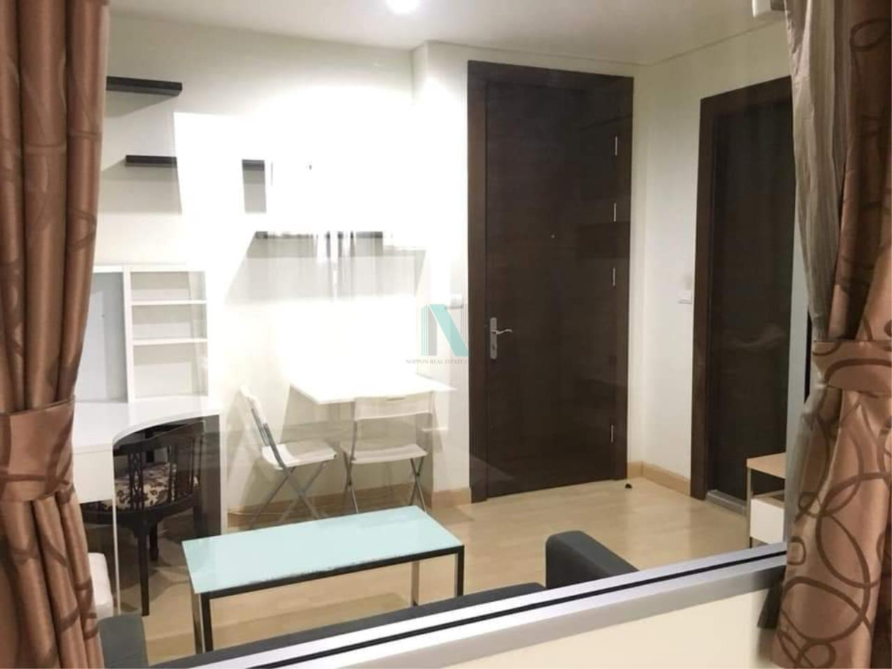 NOPPON REAL ESTATE CO.,LTD.  Agency's For rent Rhythm Ratchada 1 bedroom 27th floor near MRT Ratchadaphisek 6