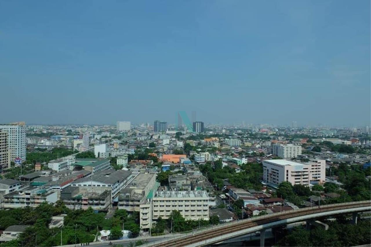 NOPPON REAL ESTATE CO.,LTD.  Agency's For rent Aspire Sathorn - Thapra 1 bedroom 20th floor near BTS Talat Phlu 8