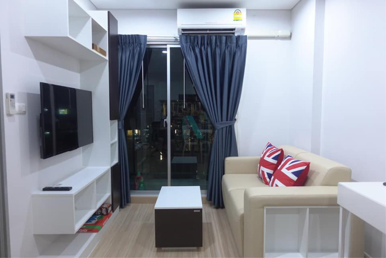NOPPON REAL ESTATE CO.,LTD.  Agency's For rent SERRANO CONDOMINIUM RAME 2 1 bedroom 4th floor  6