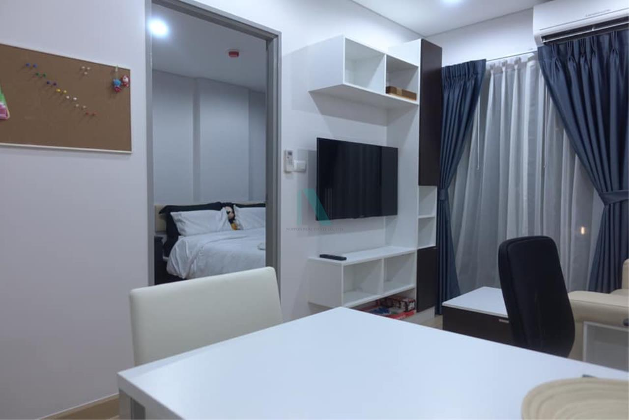 NOPPON REAL ESTATE CO.,LTD.  Agency's For rent SERRANO CONDOMINIUM RAME 2 1 bedroom 4th floor  7