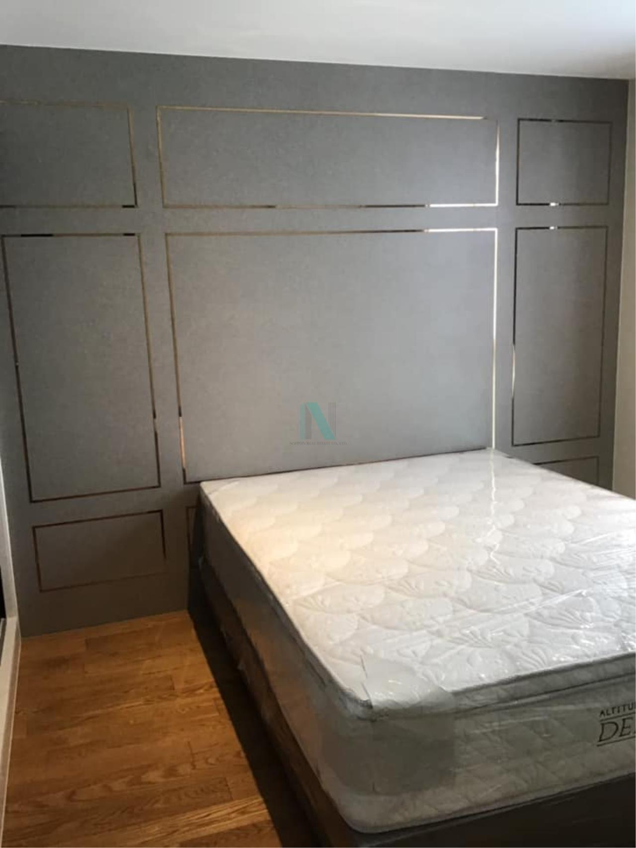 NOPPON REAL ESTATE CO.,LTD.  Agency's Altitude Define Condo for rent, new room size 32.5 sq.m., 1 bedroom, fully furnished, ready to move in, near MRT Sam Yan. 1