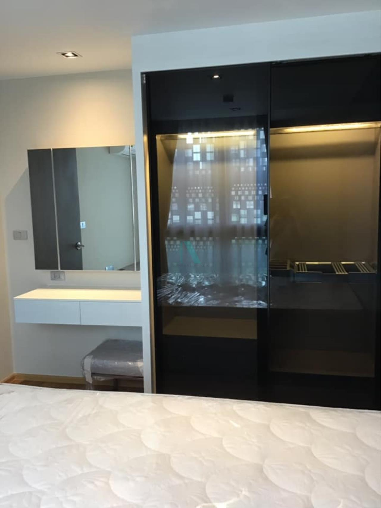 NOPPON REAL ESTATE CO.,LTD.  Agency's Altitude Define Condo for rent, new room size 32.5 sq.m., 1 bedroom, fully furnished, ready to move in, near MRT Sam Yan. 4