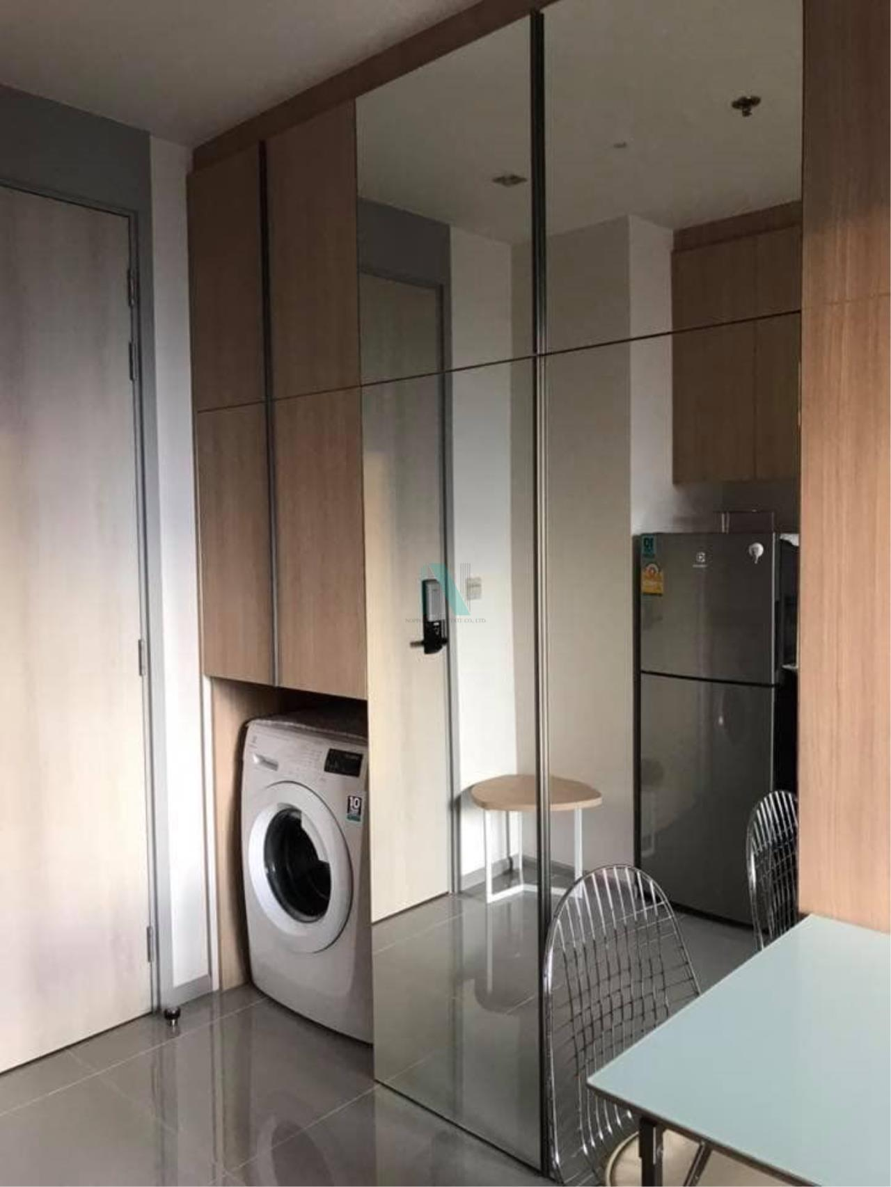 NOPPON REAL ESTATE CO.,LTD.  Agency's M Jatujak Condo for rent, 1 bedroom, 32 sq.m., fully furnished, ready to move in, near BTS Mo chit 7