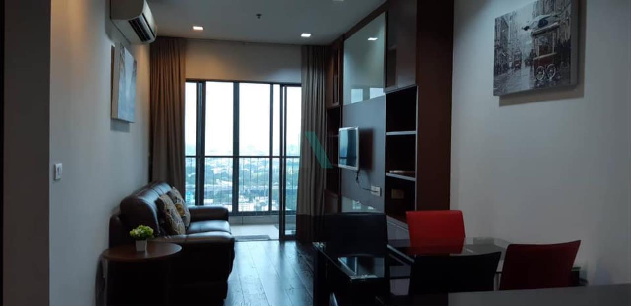 NOPPON REAL ESTATE CO.,LTD.  Agency's For rent Ideo Q Phayathai Condo, 70 sq.m., 2 bedrooms, 2 bathrooms, fully furnished. Ready to move in 2