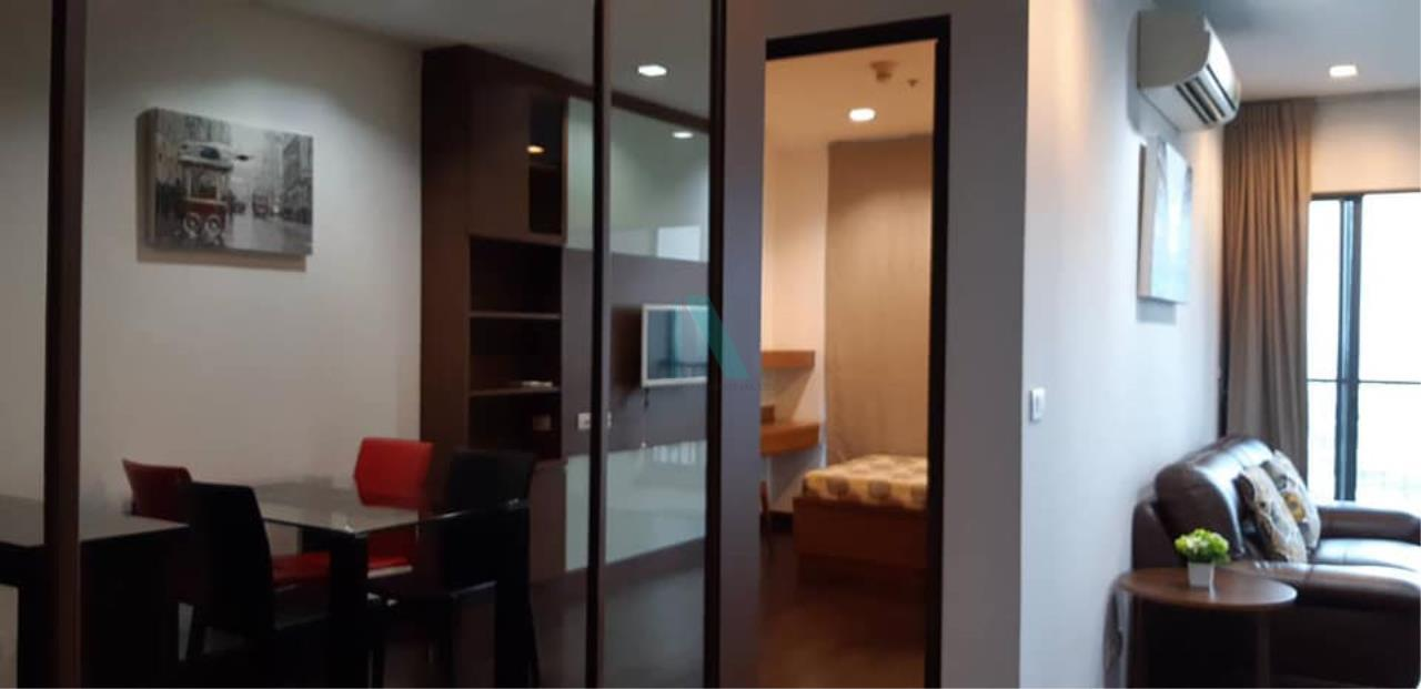 NOPPON REAL ESTATE CO.,LTD.  Agency's For rent Ideo Q Phayathai Condo, 70 sq.m., 2 bedrooms, 2 bathrooms, fully furnished. Ready to move in 4