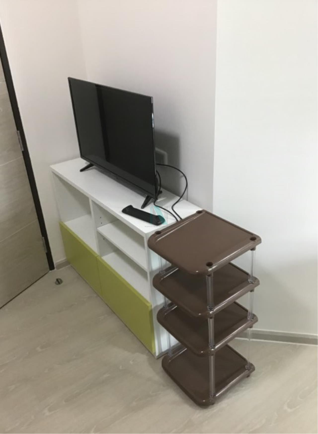 NOPPON REAL ESTATE CO.,LTD. Agency's For rent Grene Condo Donmuang-Songpracha, size 25 sq.m., 1 bedroom, new room, fully furnished, ready to move in. 6
