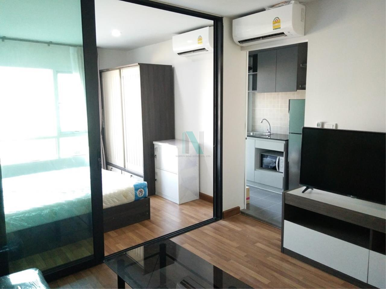 NOPPON REAL ESTATE CO.,LTD.  Agency's For rent Regent Home, Sukhumvit 81, 1 bedroom, 28 sq.m., fully furnished, ready to move in BTS On Nut 2