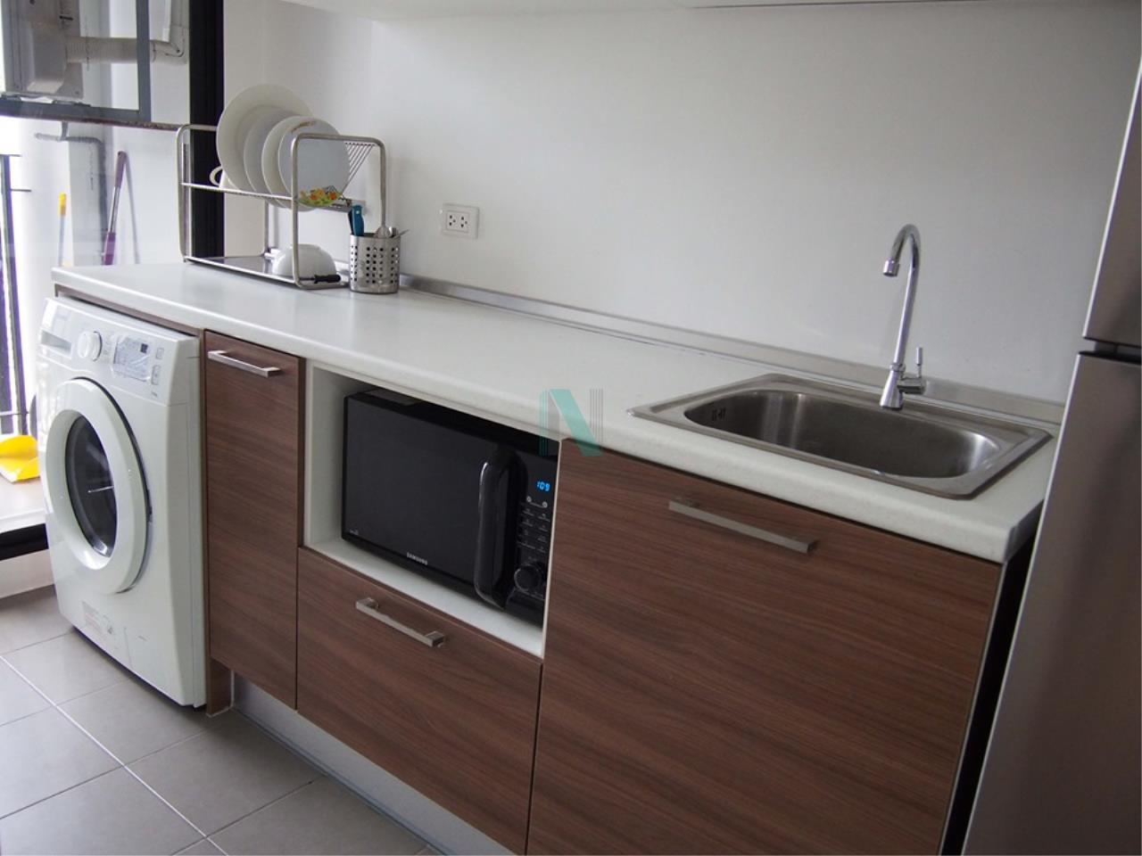 NOPPON REAL ESTATE CO.,LTD.  Agency's For rent, The Tree Interchange, 1 bedroom, 36 sq.m., fully furnished, ready to move in, MRT Tao Poon 4