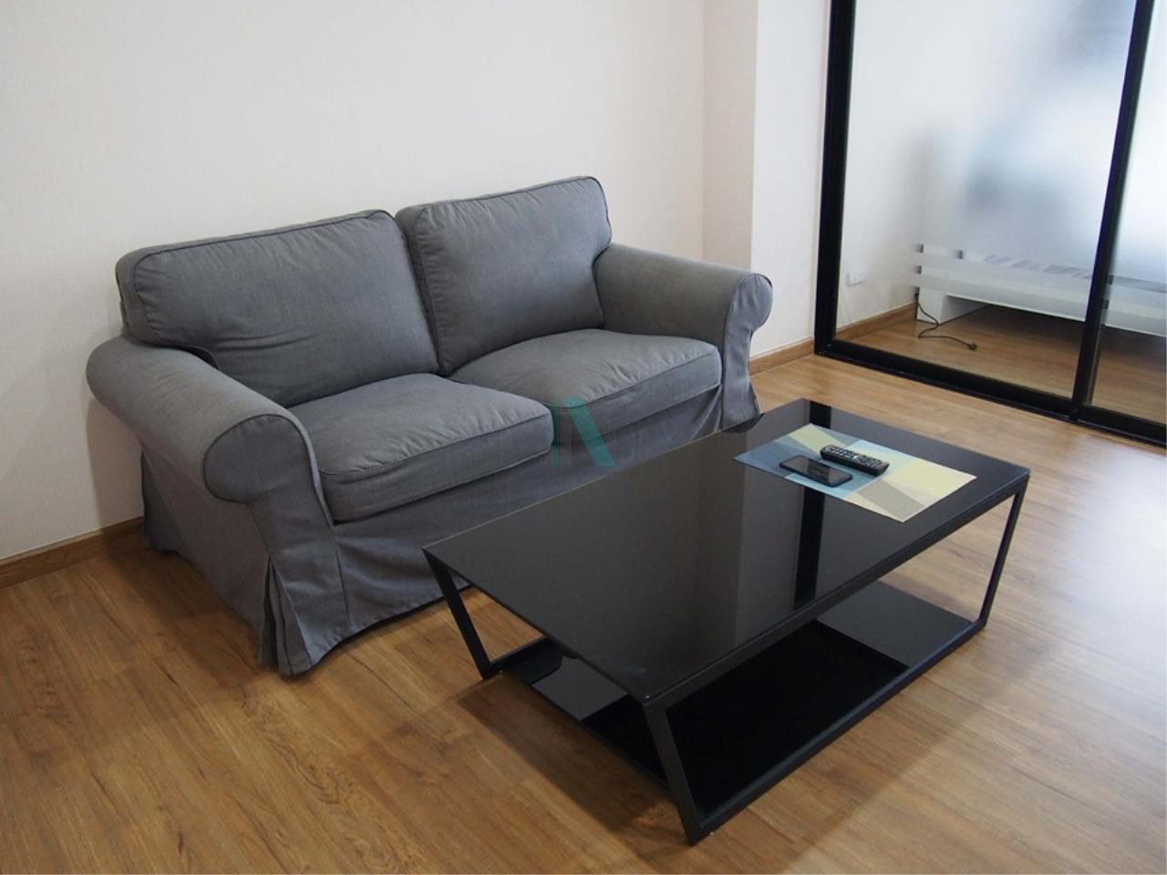 NOPPON REAL ESTATE CO.,LTD.  Agency's For rent, The Tree Interchange, 1 bedroom, 36 sq.m., fully furnished, ready to move in, MRT Tao Poon 6