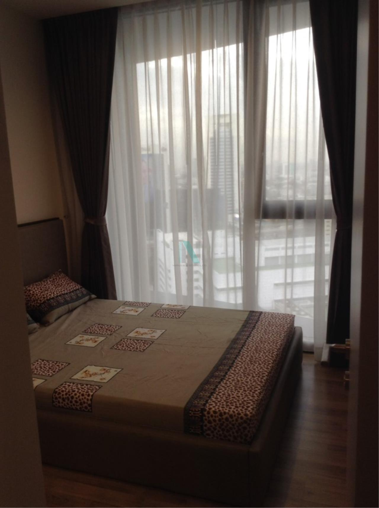 NOPPON REAL ESTATE CO.,LTD.  Agency's For rent, Condo THE LINE Jatujak-Mochit, size 26.48 sq.m., 1 bedroom, fully furnished, ready to move in. Mo Chit 1