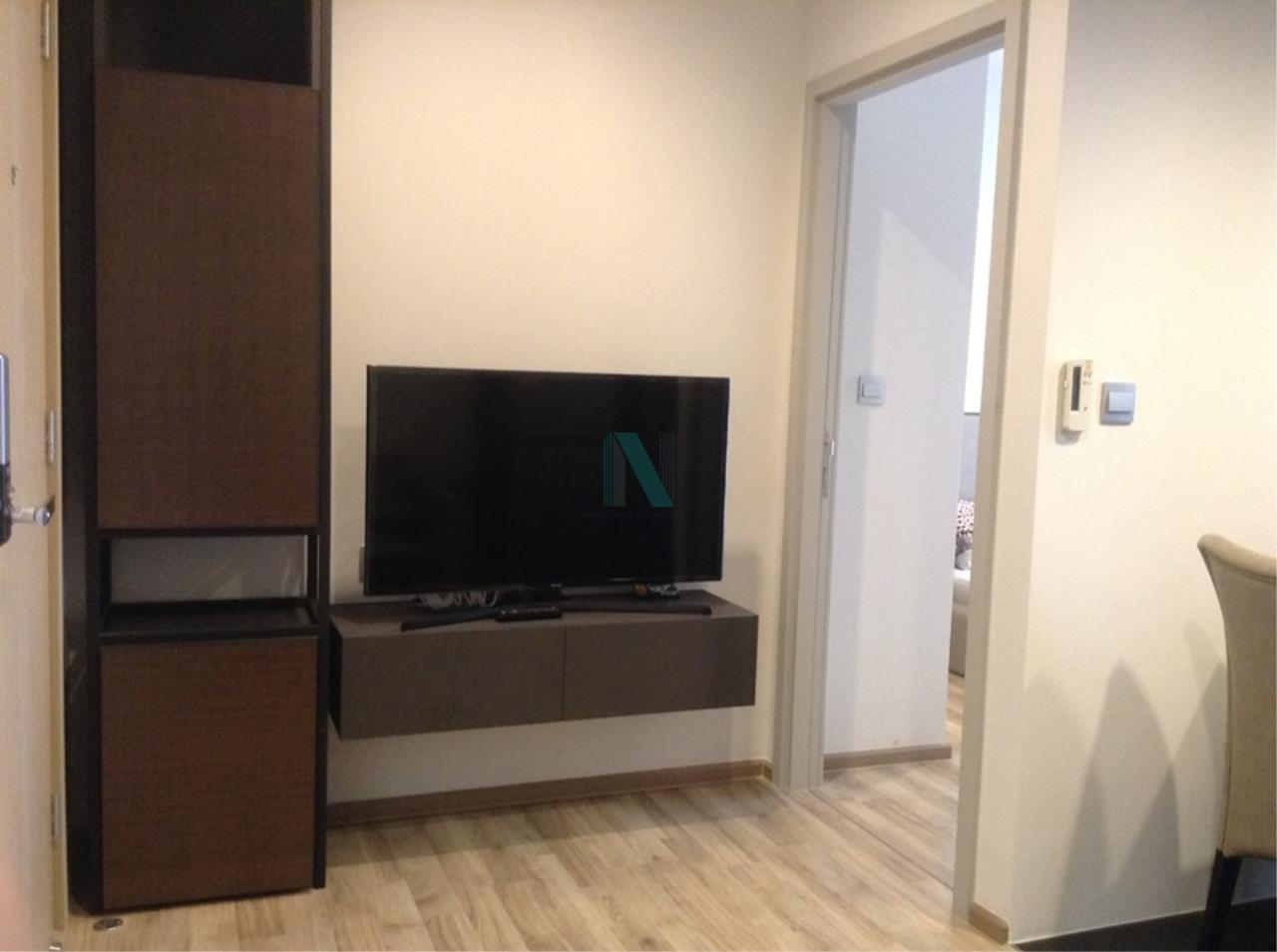 NOPPON REAL ESTATE CO.,LTD.  Agency's For rent, Condo THE LINE Jatujak-Mochit, size 26.48 sq.m., 1 bedroom, fully furnished, ready to move in. Mo Chit 5
