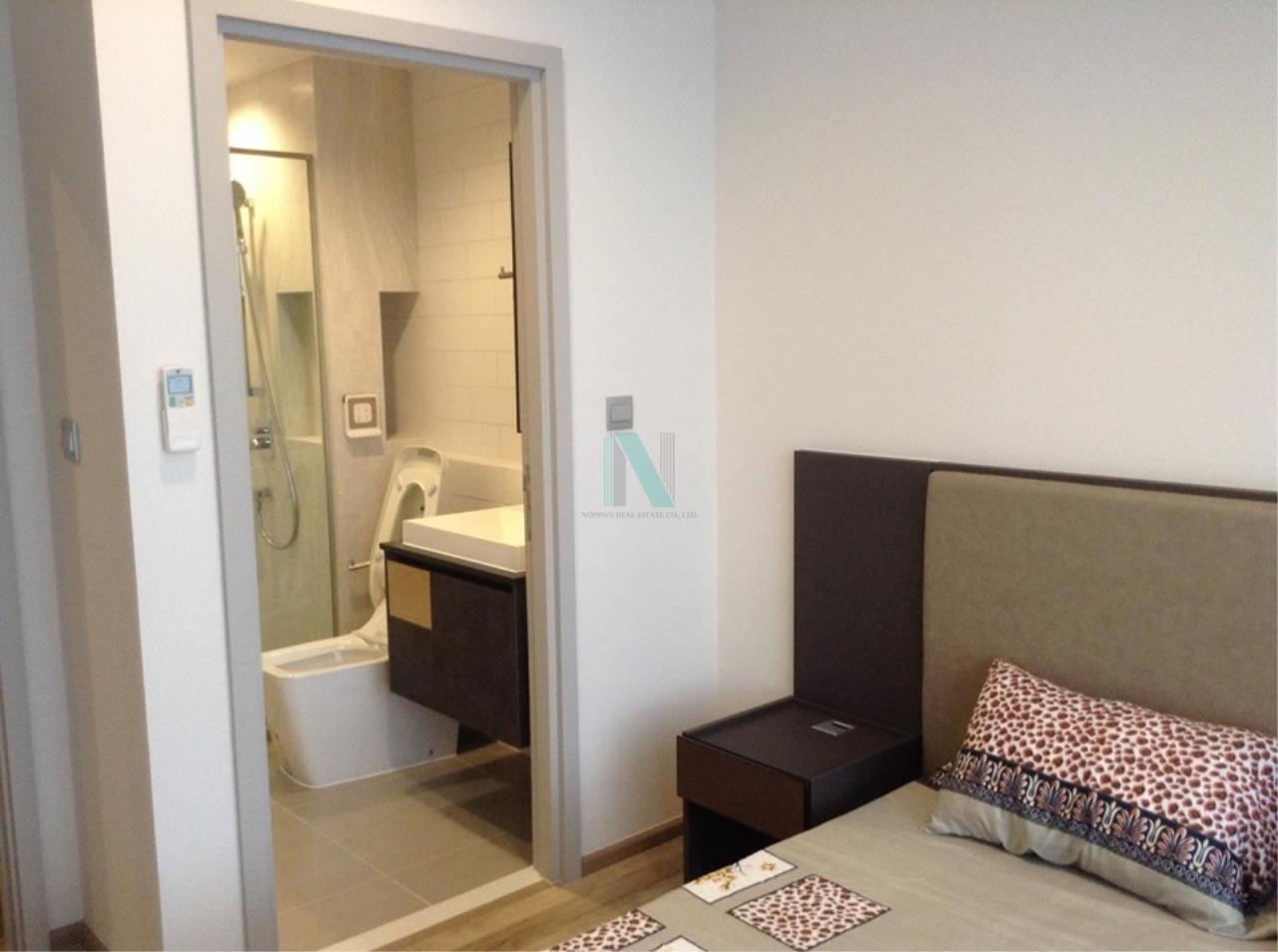 NOPPON REAL ESTATE CO.,LTD.  Agency's For rent, Condo THE LINE Jatujak-Mochit, size 26.48 sq.m., 1 bedroom, fully furnished, ready to move in. Mo Chit 8