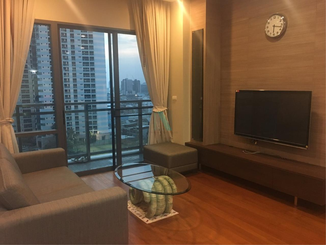 NOPPON REAL ESTATE CO.,LTD.  Agency's For rent Bright Sukhumvit 24, 2 bedrooms, 2 bathrooms, 88 sq.m. area, fully furnished, ready to move in, BTS Phrom Phong 1