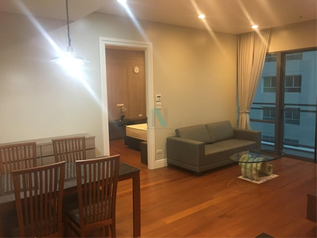 NOPPON REAL ESTATE CO.,LTD.  Agency's For rent Bright Sukhumvit 24, 2 bedrooms, 2 bathrooms, 88 sq.m. area, fully furnished, ready to move in, BTS Phrom Phong 5