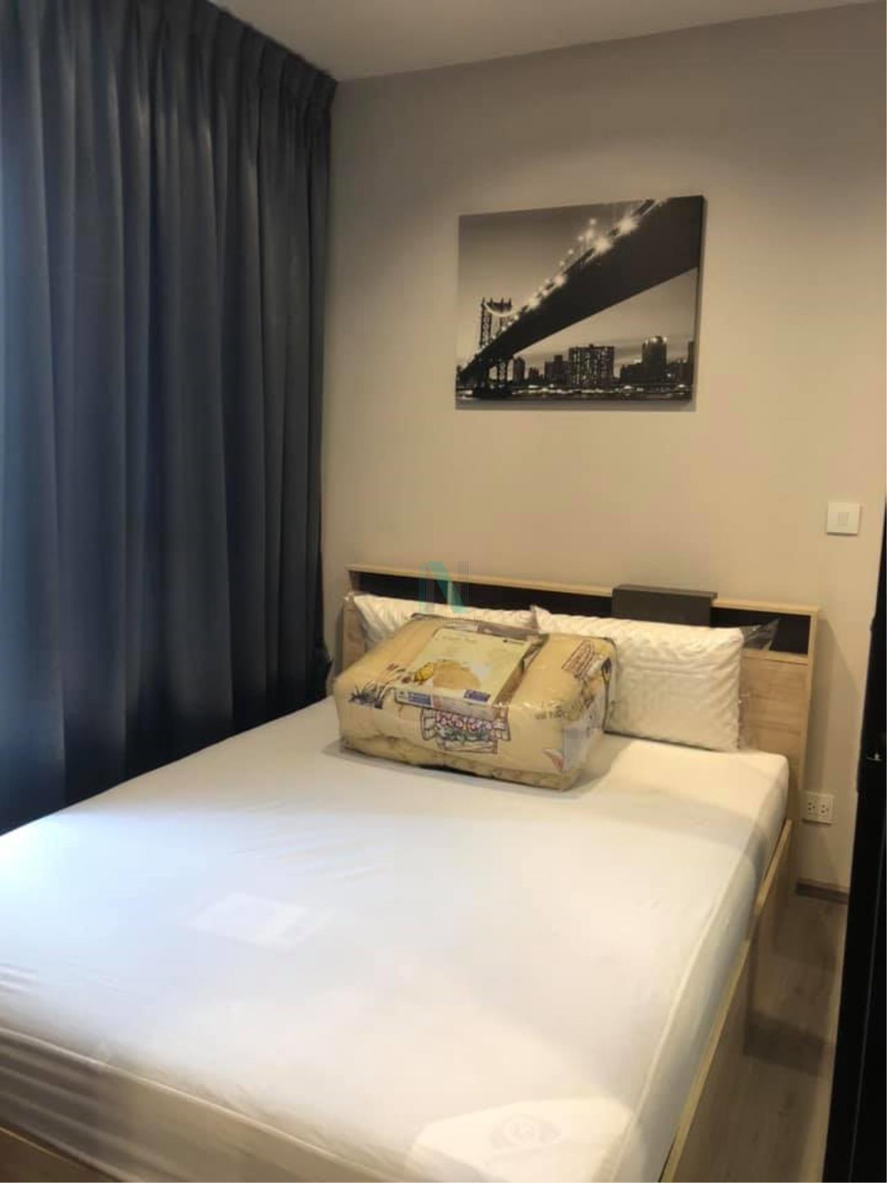 NOPPON REAL ESTATE CO.,LTD.  Agency's For rent The Politan River 1 bedroom 42th floor near MRT Phra Nangklao 5