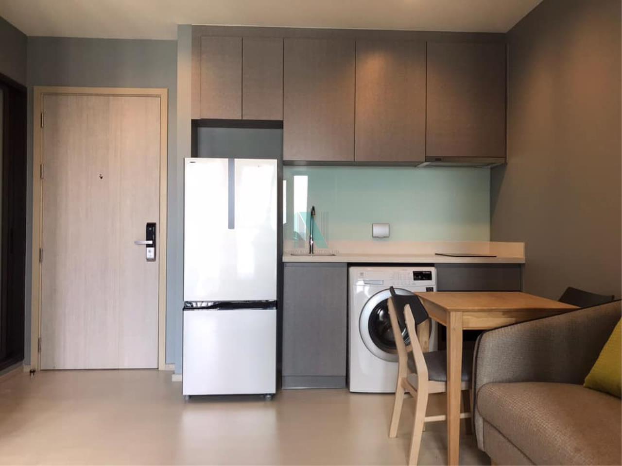 NOPPON REAL ESTATE CO.,LTD.  Agency's For rent Rhythm Sukhumvit 36-38 1 bedroom 14th floor near BTS Thonglor 2