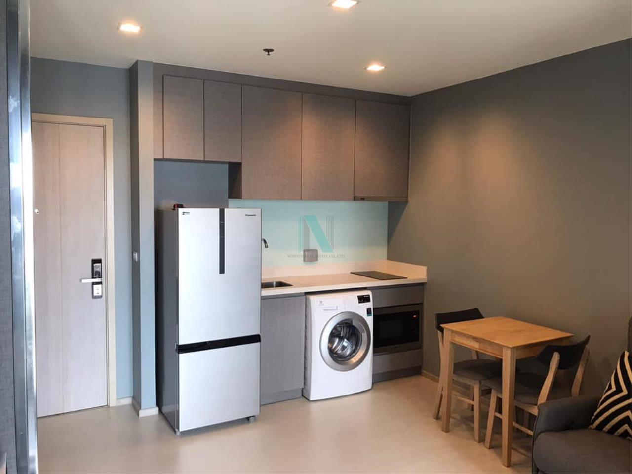 NOPPON REAL ESTATE CO.,LTD.  Agency's For rent Rhythm Sukhumvit 36-38 1 bedroom 14th floor near BTS Thonglor 3