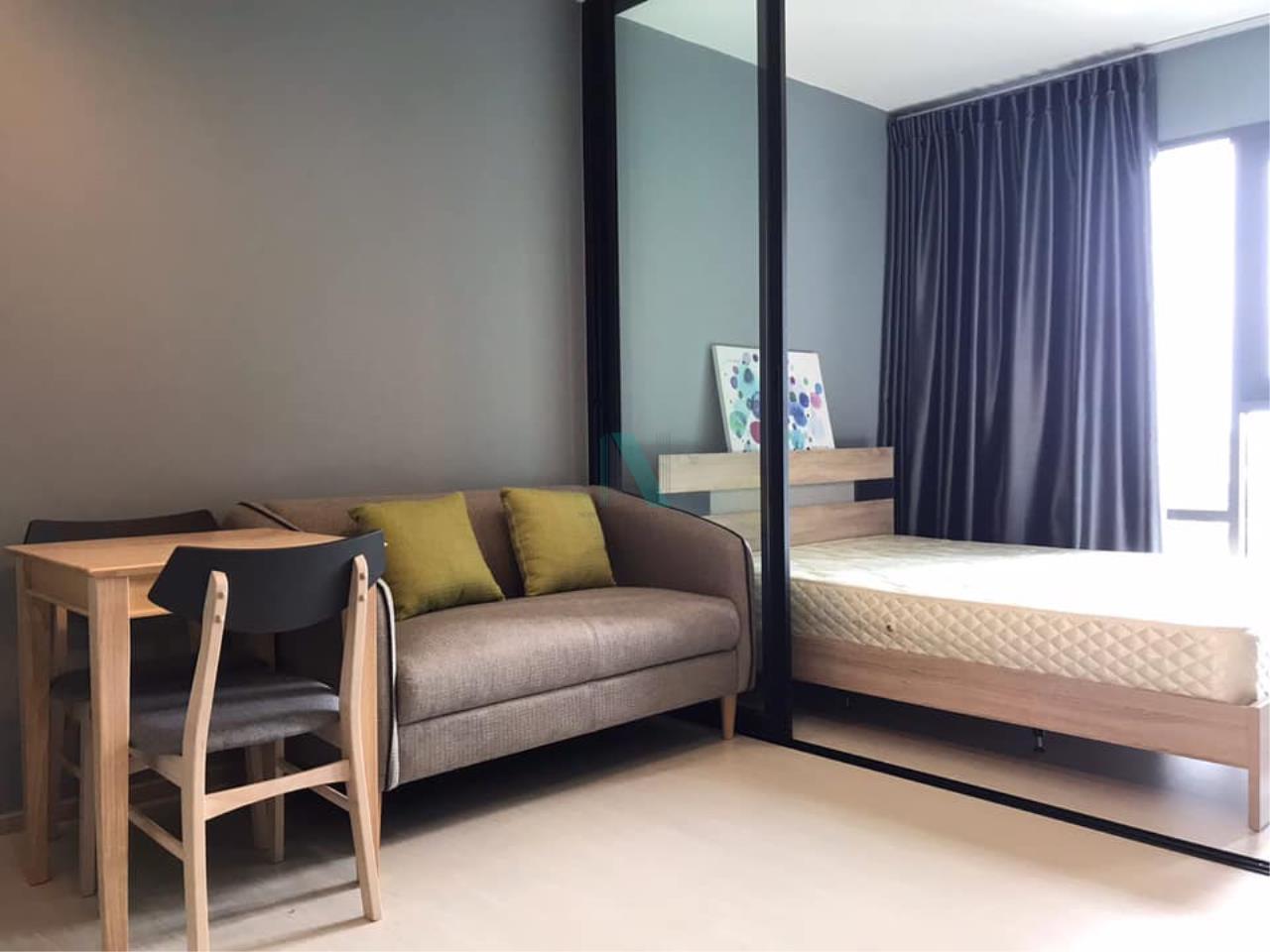 NOPPON REAL ESTATE CO.,LTD.  Agency's For rent Rhythm Sukhumvit 36-38 1 bedroom 14th floor near BTS Thonglor 4