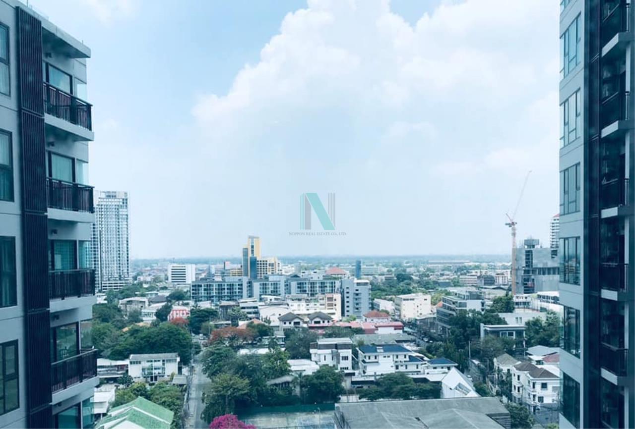 NOPPON REAL ESTATE CO.,LTD.  Agency's For rent Rhythm Sukhumvit 36-38 1 bedroom 14th floor near BTS Thonglor 7
