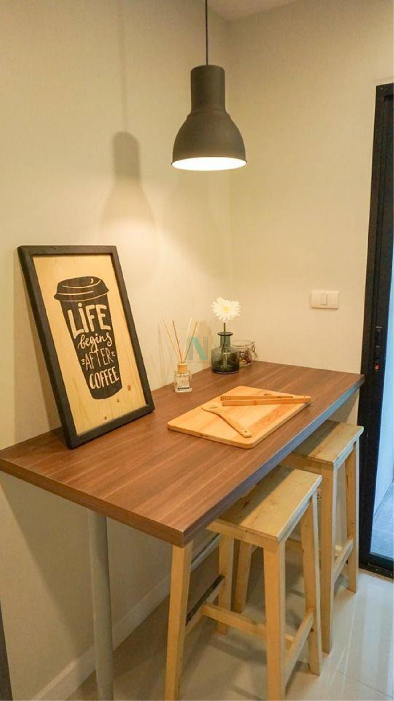 NOPPON REAL ESTATE CO.,LTD.  Agency's For rent Zenith Place Sukhumvit 42 1 bedroom 2nd floor Building B 5