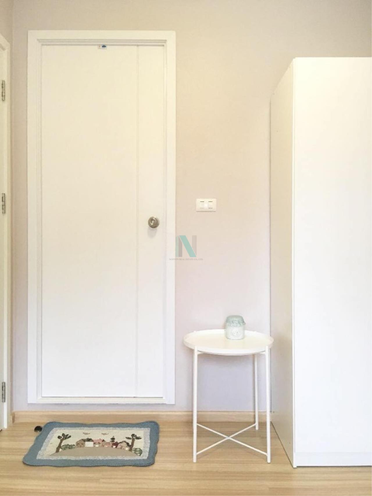 NOPPON REAL ESTATE CO.,LTD.  Agency's For Rent Plum Condo Chaengwattana Station Phase 2 1 Bedroom 3rd Floor 2