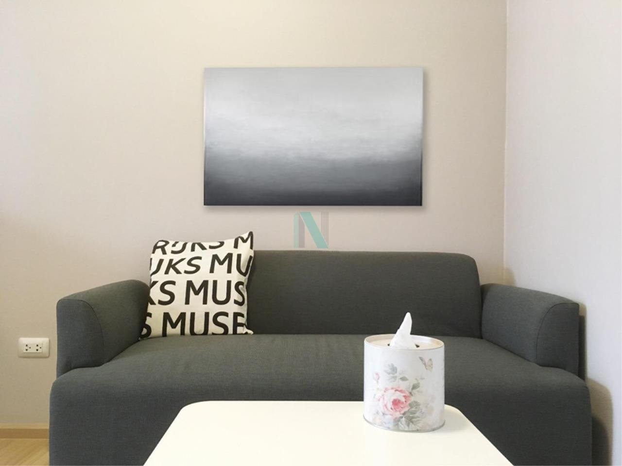 NOPPON REAL ESTATE CO.,LTD.  Agency's For Rent Plum Condo Chaengwattana Station Phase 2 1 Bedroom 3rd Floor 4