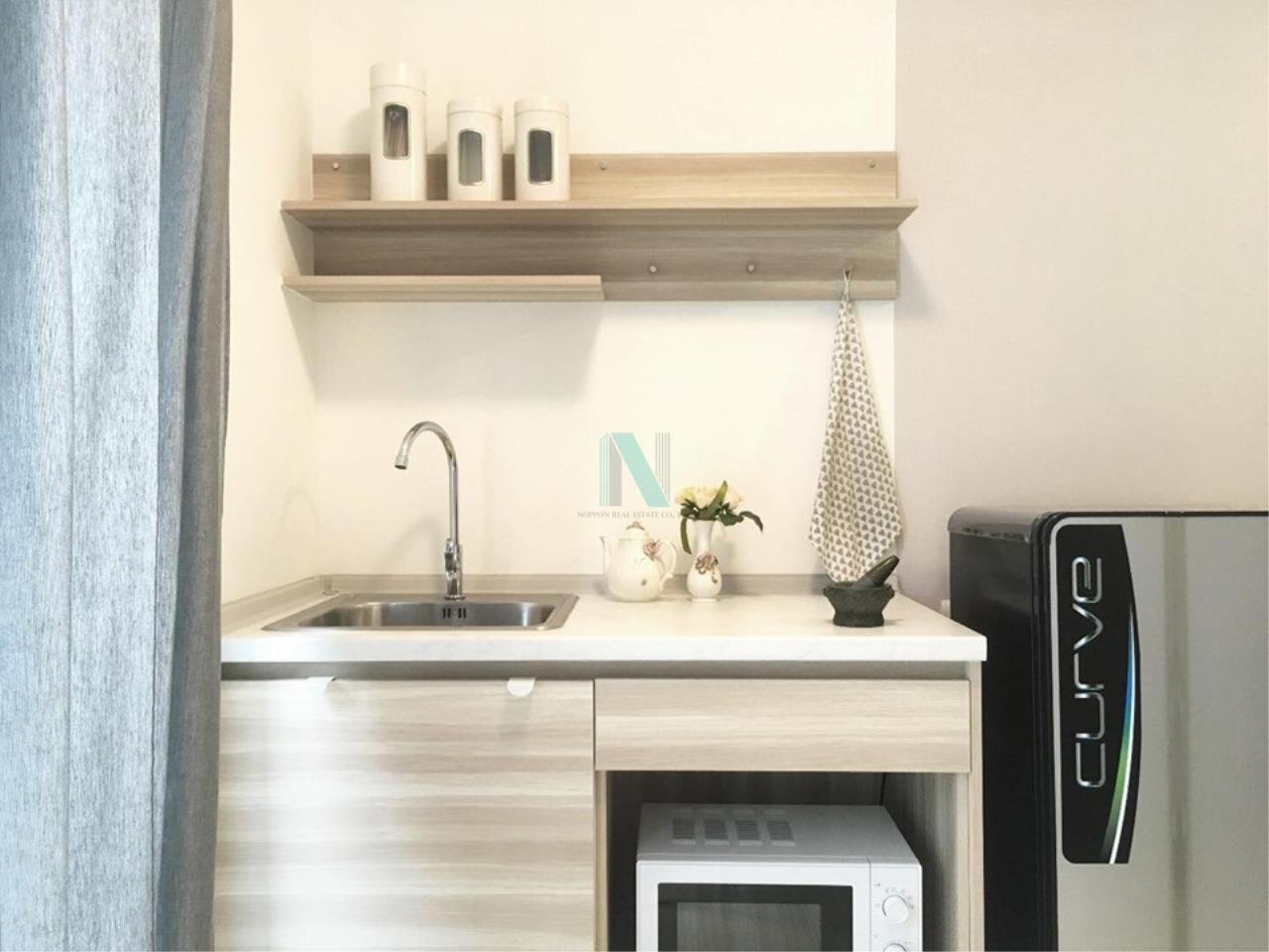 NOPPON REAL ESTATE CO.,LTD.  Agency's For Rent Plum Condo Chaengwattana Station Phase 2 1 Bedroom 3rd Floor 6