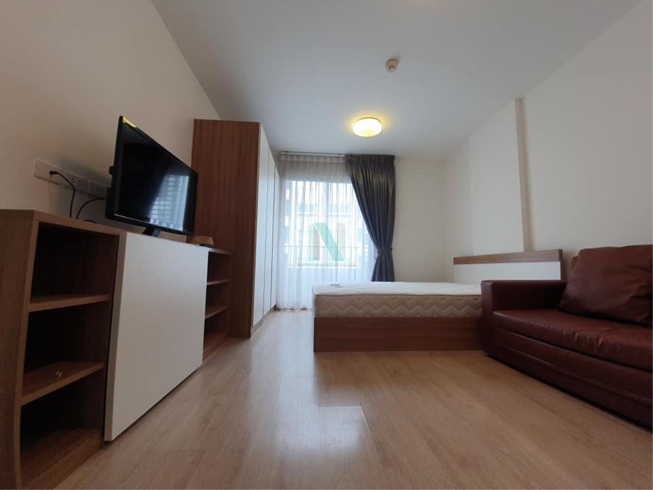 NOPPON REAL ESTATE CO.,LTD.  Agency's For rent Elio Condo Sukhumvit 64 STUDIO 4th floor Building B 2