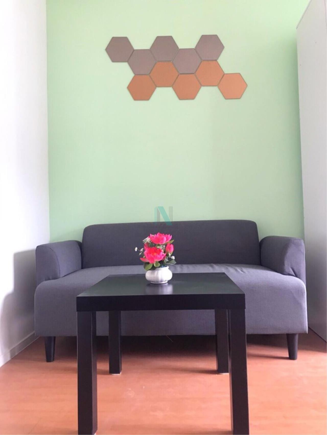 NOPPON REAL ESTATE CO.,LTD.  Agency's For rent Lumpini Condo Town Romklao - Suvarnabhumi STUDIO 5th floor  1