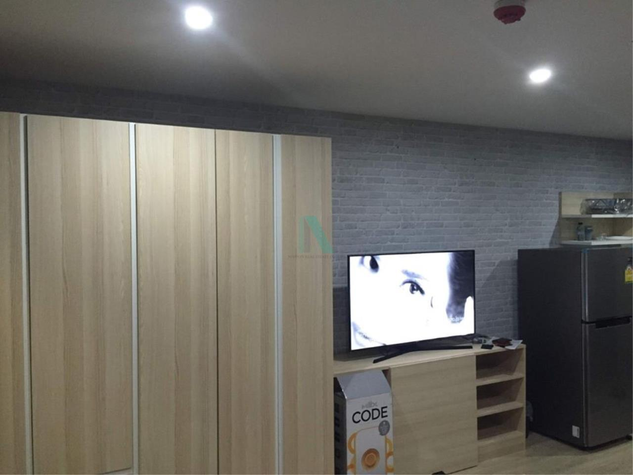 NOPPON REAL ESTATE CO.,LTD.  Agency's For rent Elio Del Ray STUDIO 8th floor Building D near BTS Punnawithi 2
