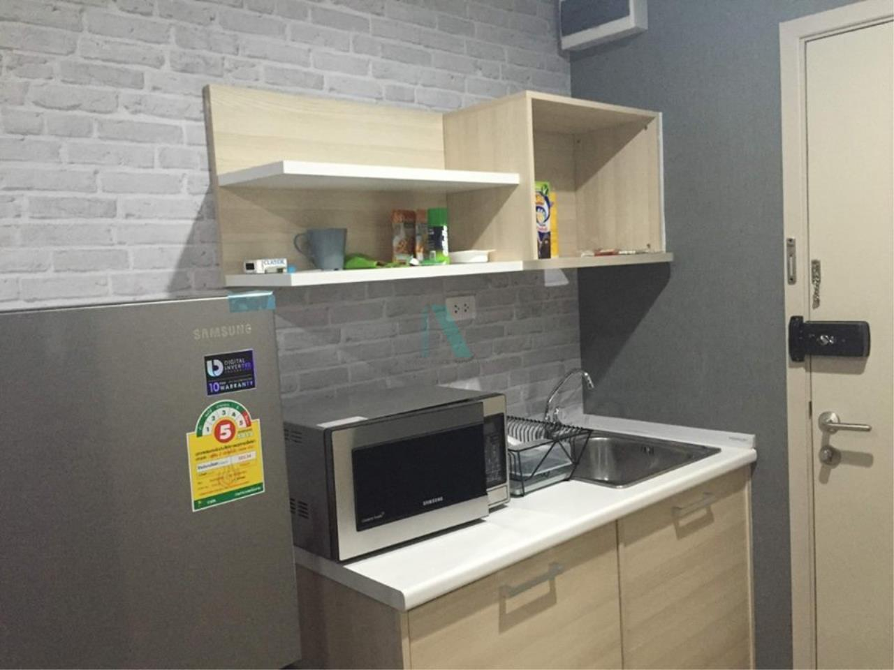 NOPPON REAL ESTATE CO.,LTD.  Agency's For rent Elio Del Ray STUDIO 8th floor Building D near BTS Punnawithi 3