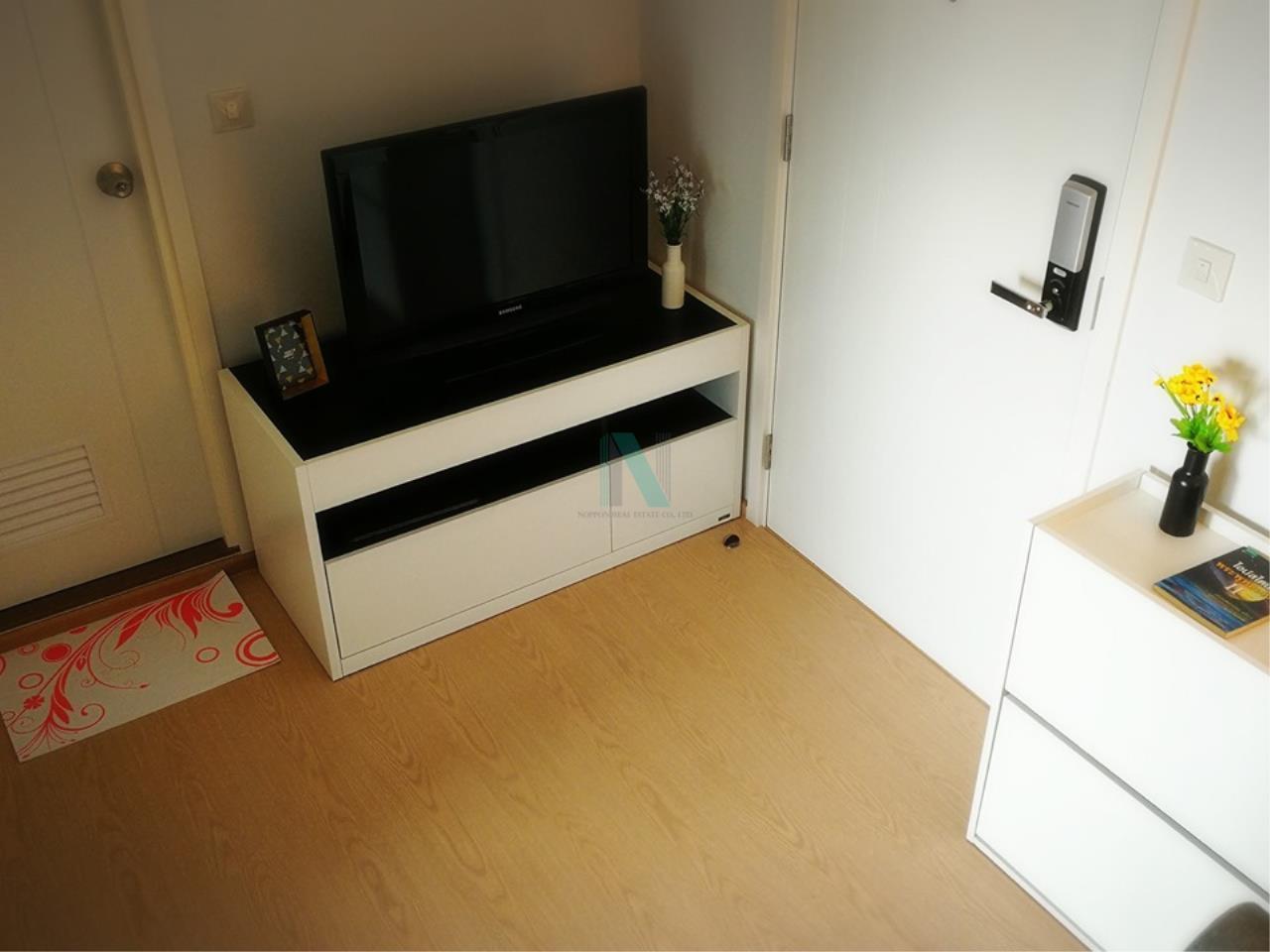 NOPPON REAL ESTATE CO.,LTD.  Agency's For rent The Tree Sukhumvit 71-Ekamai 1 bedroom 29th floor 3