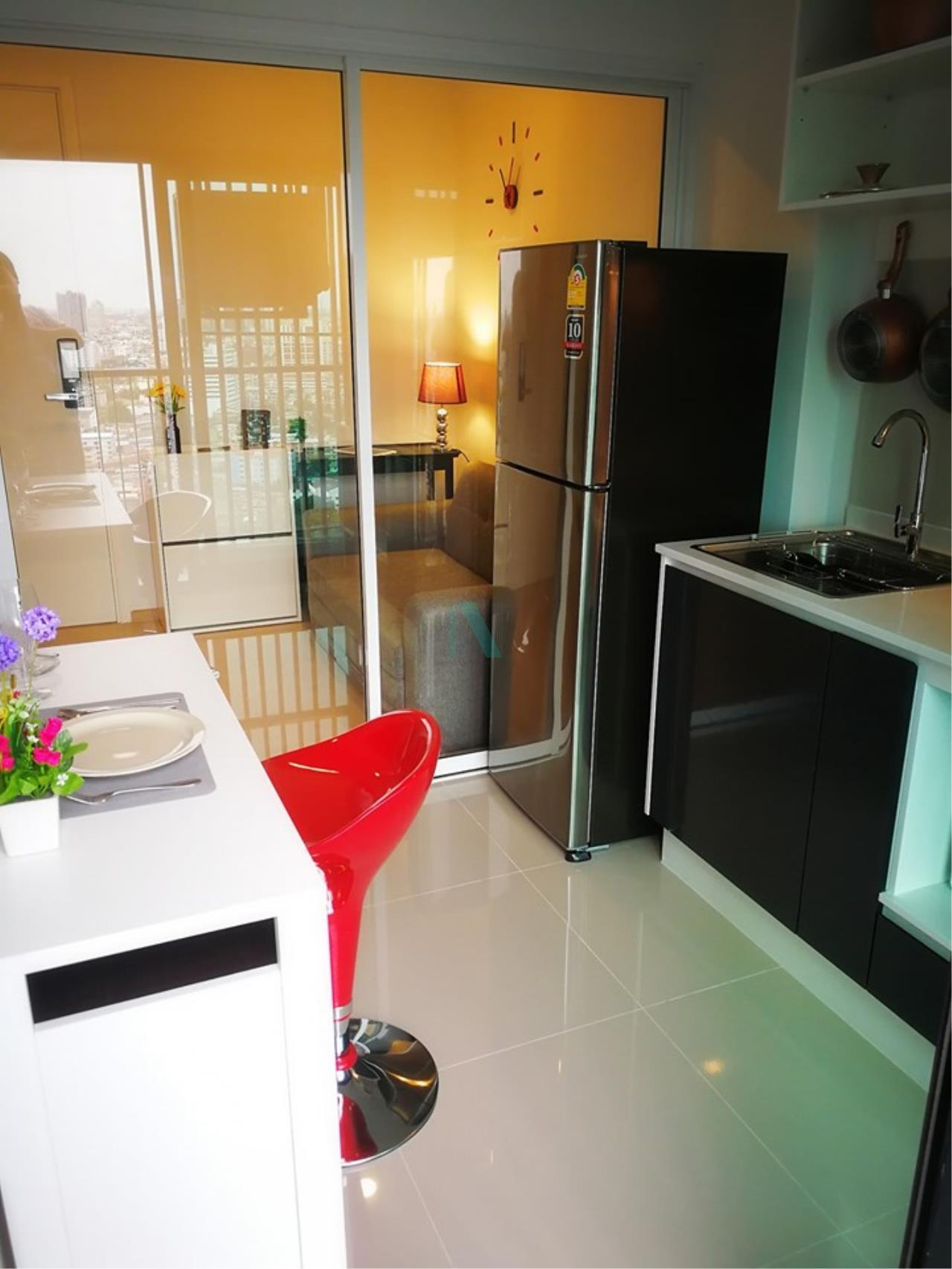 NOPPON REAL ESTATE CO.,LTD.  Agency's For rent The Tree Sukhumvit 71-Ekamai 1 bedroom 29th floor 5