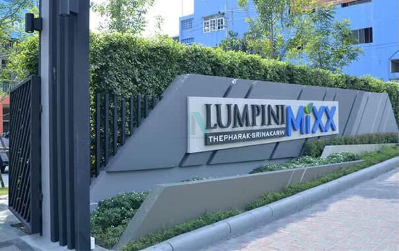 NOPPON REAL ESTATE CO.,LTD.  Agency's For rent Lumpini Mixth Thepharak-Srinakarin STUDIO 5th floor Building A1 8
